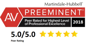 """Martindale-Hubbell """"AV - preeminent"""" rated stepparent adoption attorney"""